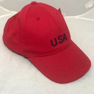 Other - USA dad cap red hat